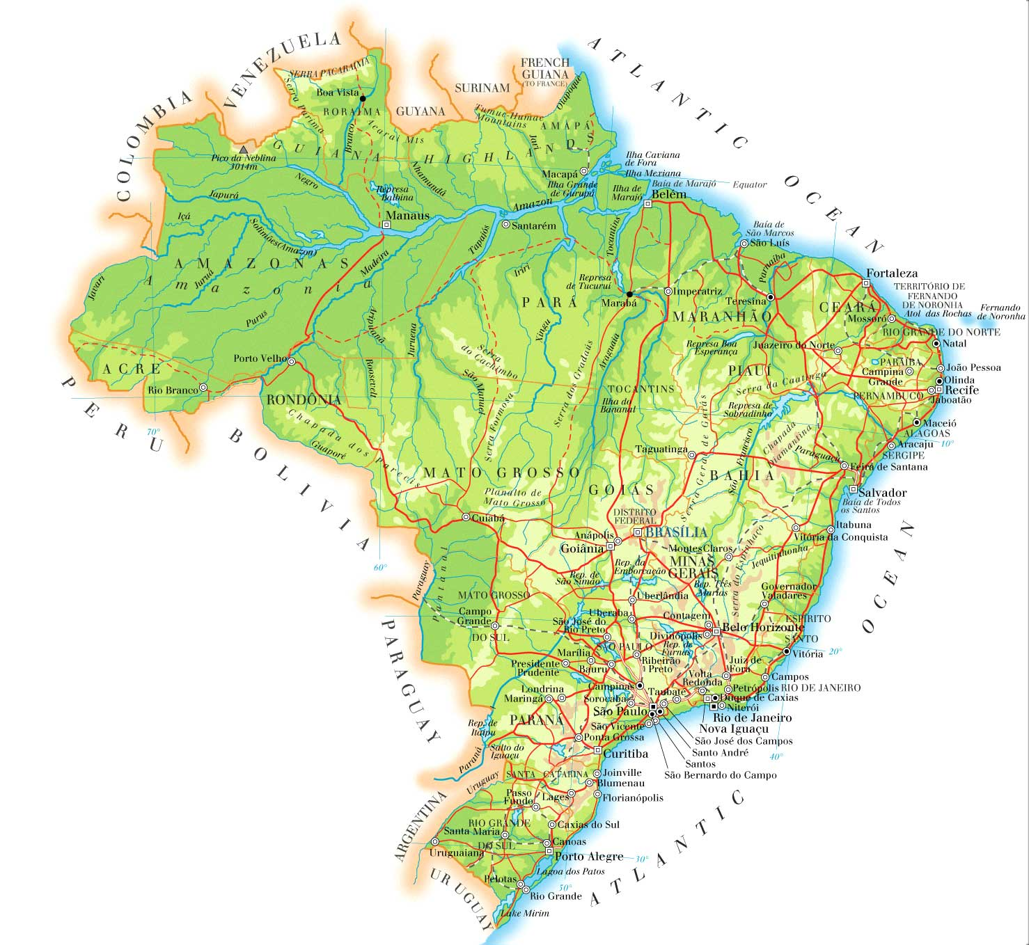 Ppi Maps Of Countries Brazil