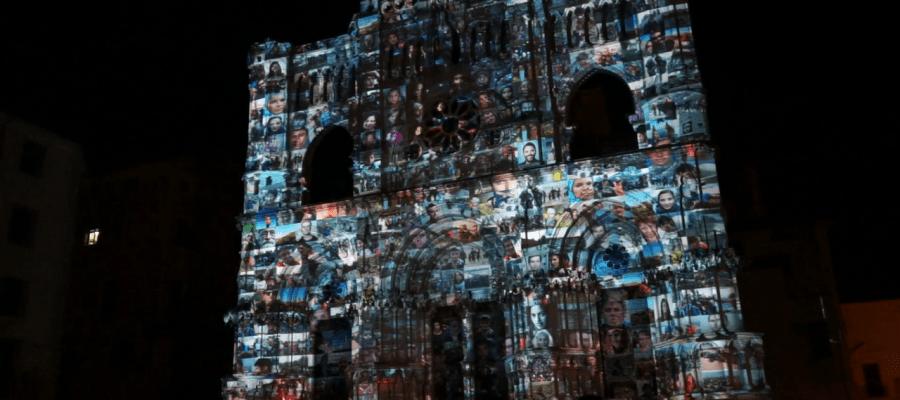 Изумительной красоты 3D mapping на испанский Кафедральный Собор