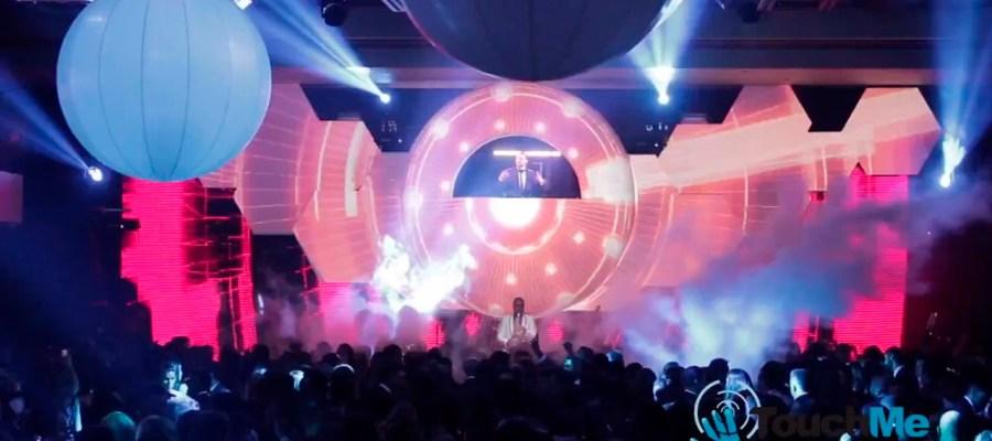 3D mapping шоу для выступления DJ BOOTH в Венесуале