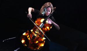 3D mapping на виолончель