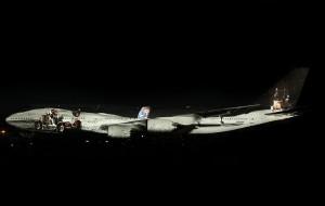 Фантастический 3D mapping на Boeing 747