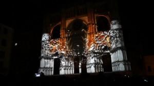 Поразительный 3D mapping на испанский Кафедральный Собор