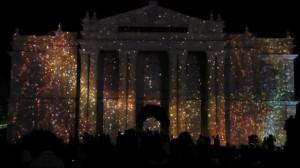 Фантастический 3D mapping на индийском фестивале Mysore Dasara