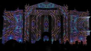 Поражающий 3D mapping на индийском фестивале Mysore Dasara
