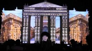 3D mapping на индийском фестивале Mysore Dasara