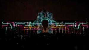 Восхитительный 3D mapping на Дворцовой площади Лиссабона