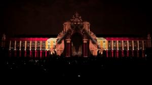 Поразительный 3D mapping на Дворцовой площади Лиссабона