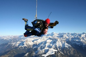 Skydiving in Switzerland!