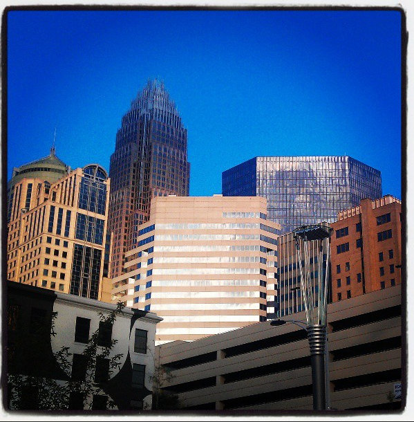 I fell in love with the city of Charlotte as soon as we arrived!  Such an amazing blend of metropolis and rich history!