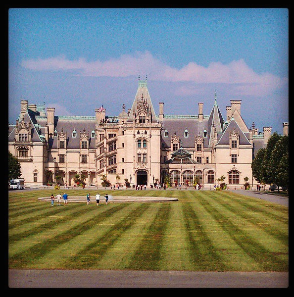 Visiting America's largest home! Biltmore Estate was an unforgettable experience...we splurged and stayed the night!