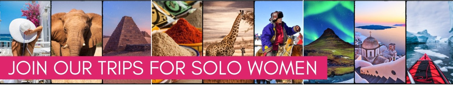 Join women only small group tours