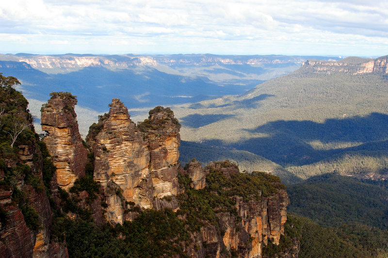 The Three Sisters. Blue Mountains, NSW. Photo CC by Sinead Friel.