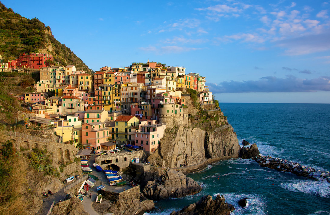 Cinque Terre. Photo by Daniel Stockman.