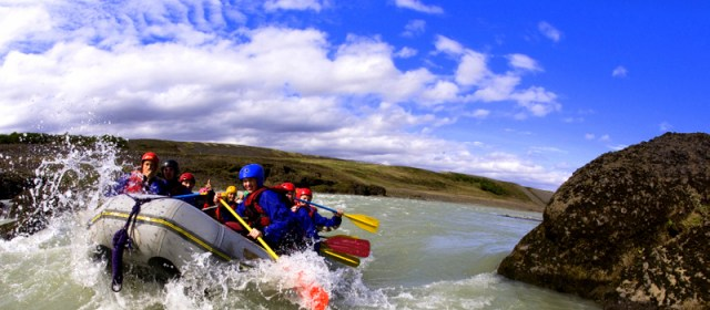White Water Rafting in Iceland with Arctic Adventures.