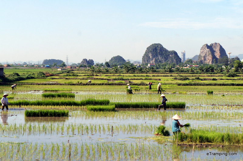 Stunning Ninh Binh. Northern Vietnam.