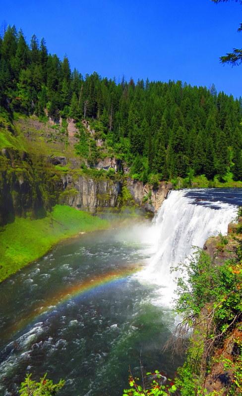 mesa falls idaho map Sunday Snapshot Mesa Falls Idaho Mapping Megan mesa falls idaho map