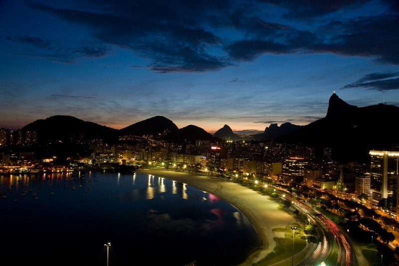 Rio by night.