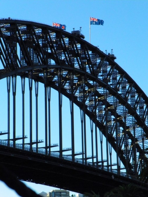 Views of Sydney Harbour Bridge