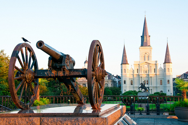 Jackson Square, New Orleans. Photo CC by