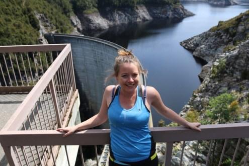 Overlooking Gordon Dam