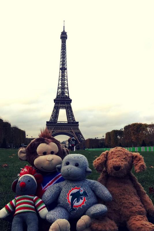 Buddy's Buddies in Paris.