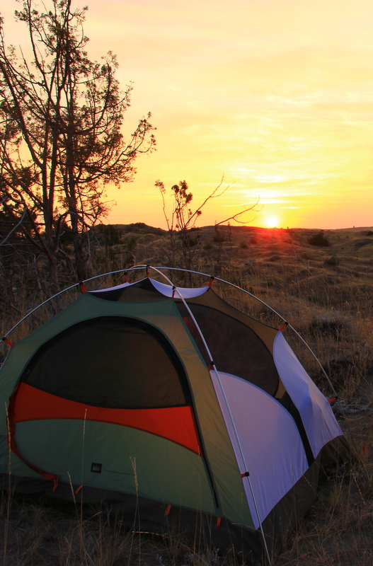 Camping for the sunrise.