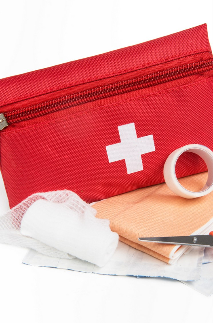 You should never camp without a first aid kit.