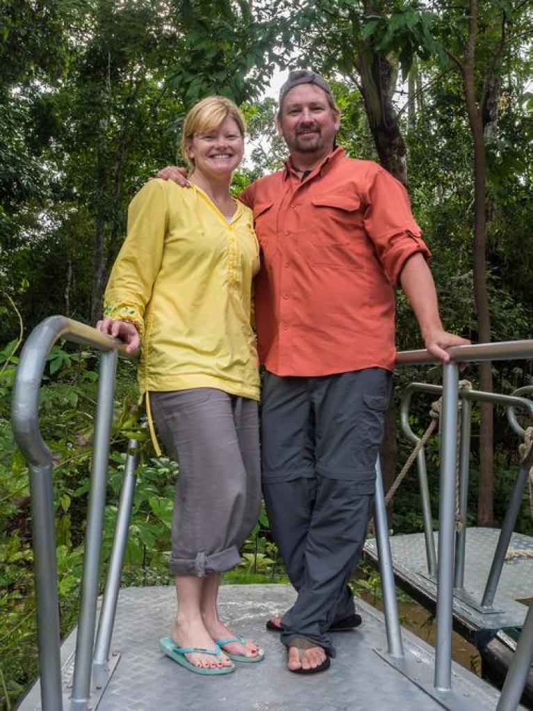 Dave Bouskill and Debra Corbeil. The Planet D.