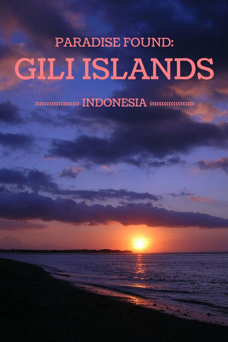 The Gili Islands Indonesia.