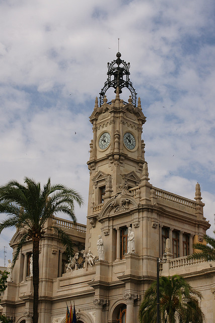 Town Hall, Valencia.