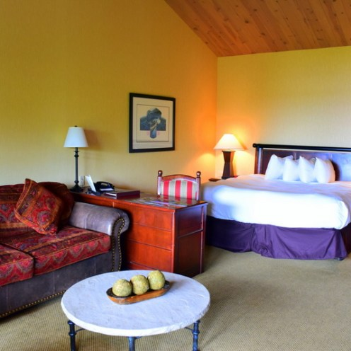 North facing King Room: Salishan Spa & Golf Resort