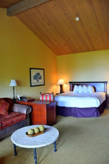 North facing King Room: Salishan Spa & Golf Resort