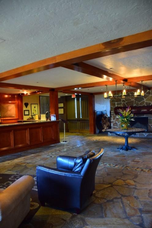 The Lobby: Salishan Spa & Golf Resort