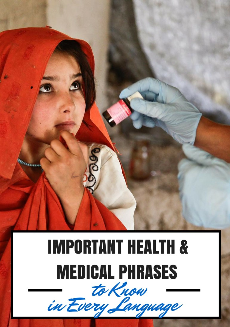 Important Health & Medical Phrases to Know in Every Language