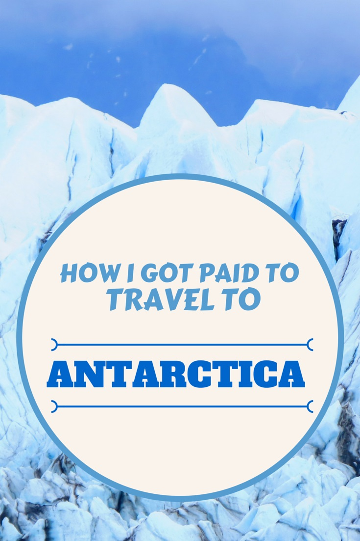 How to get a cruise ship job to Antarctica
