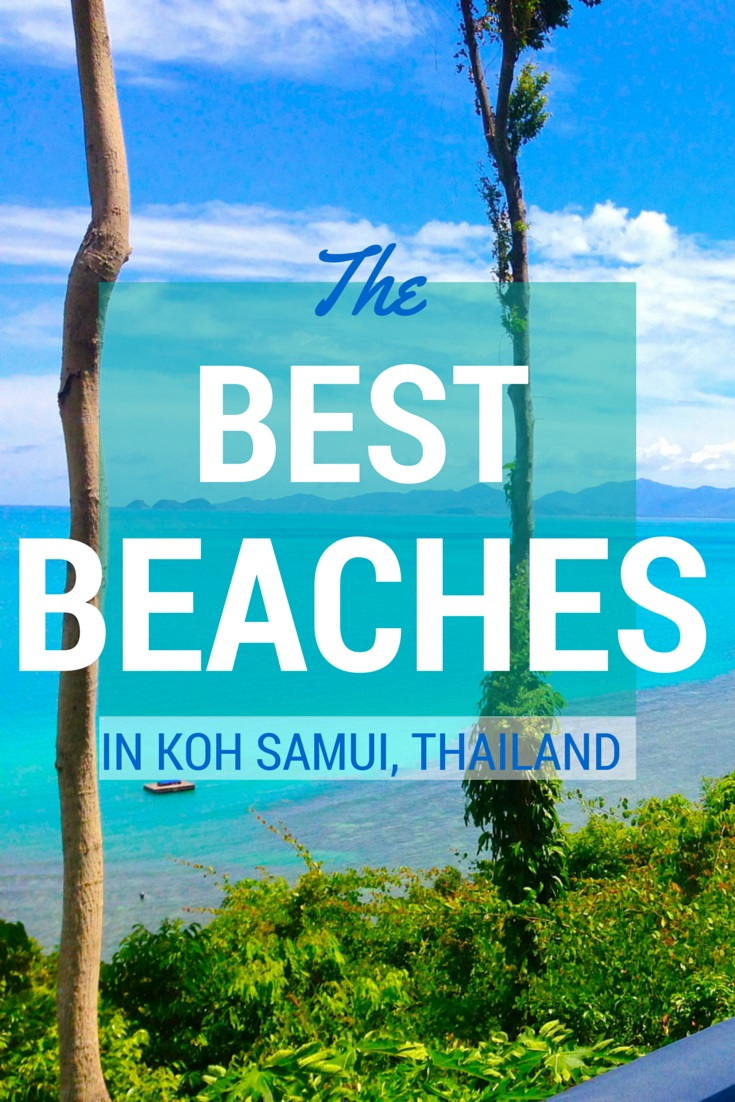 A Guide To The Beaches Of Koh Samui Thailand Mapping Megan