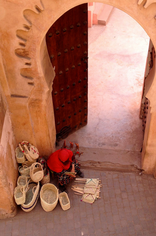 Baskets for sale Marrakech