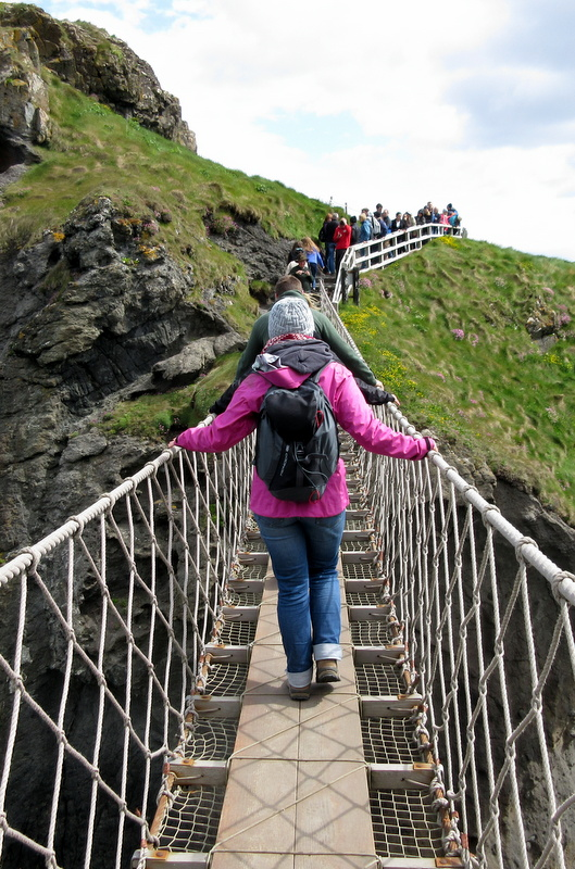 Carrick-a-Rede Rope Bridge Blind
