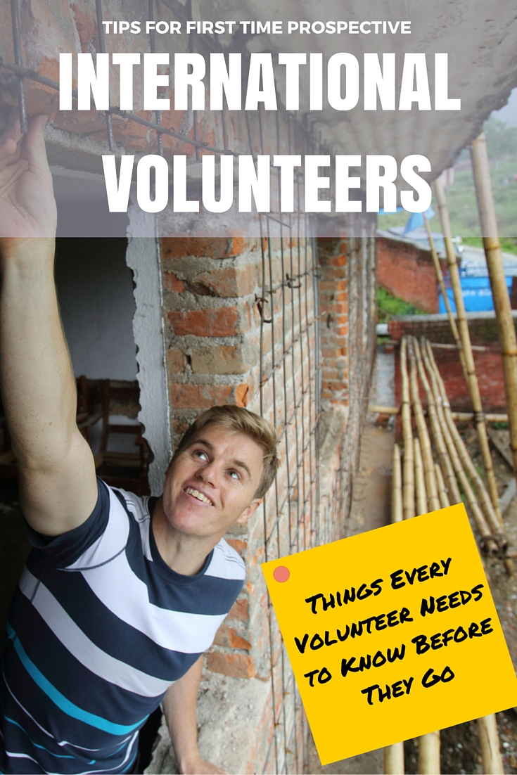 Tips For International Volunteers