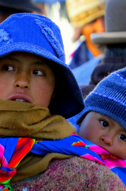 Bolivian Woman and Child