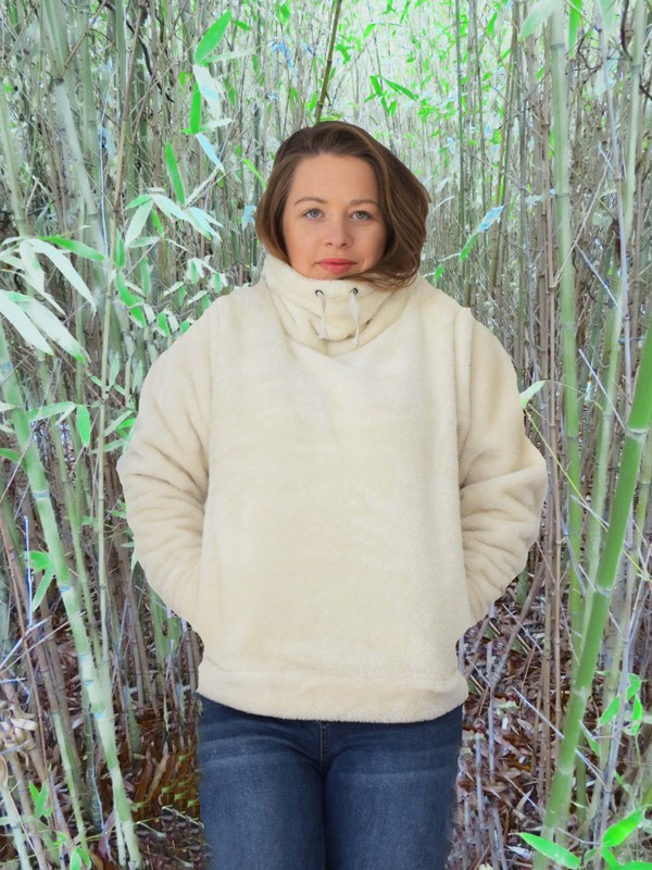 This fleece is the softest thing which will ever touch your skin.