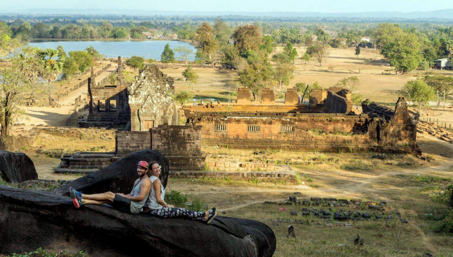 Megan and Scott in Laos