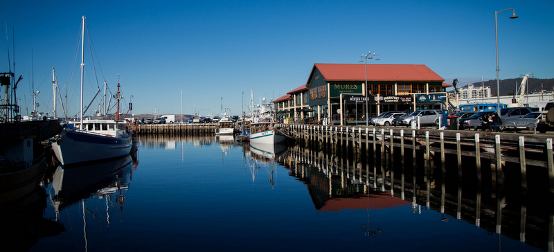 Hobart Waterfront, Tasmania