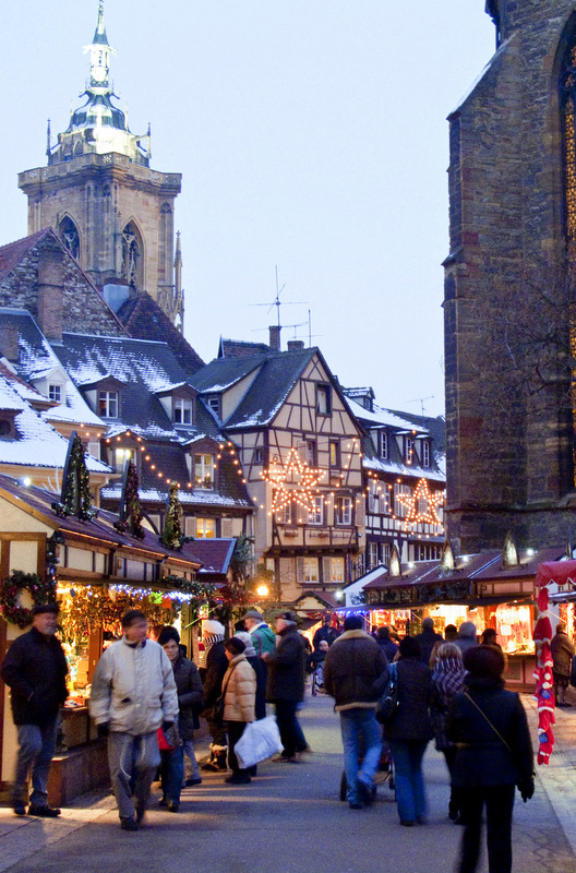 Christmas markets are magical in France, and, as you wander through the main city square, lights fill the air and scents of soap and spicy wine waft after you.