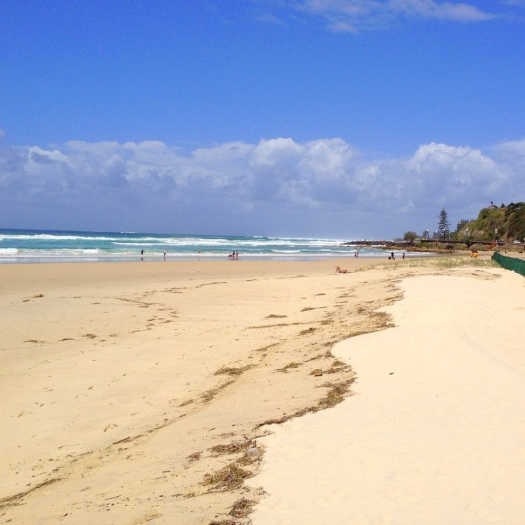 Clear blue water, beautiful soft sand, you can't ask for more from an iconic Australian beach!