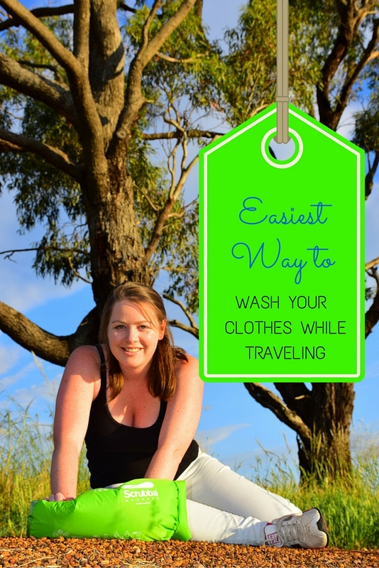 As a traveler, the Scrubba wash bag allows you to do your laundry anywhere water is available.