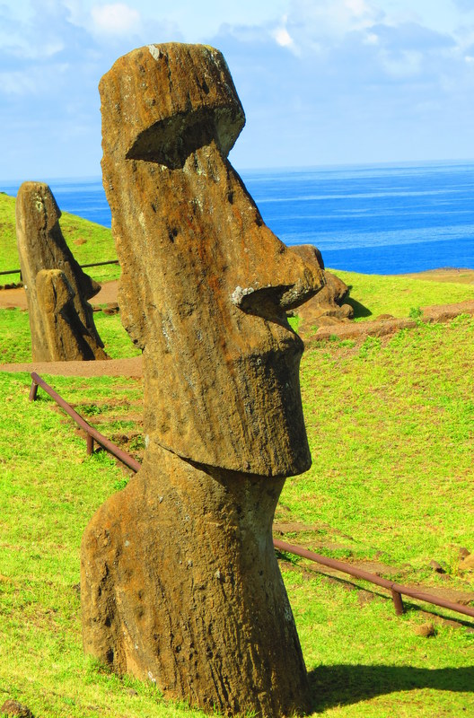 With the high plains of the Atacama Desert in the north, the glaciers and fjords of Patagonia to the south, and the remote ruins of Easter Island out in the South Pacific, Chile's a prime destination for adventurers.