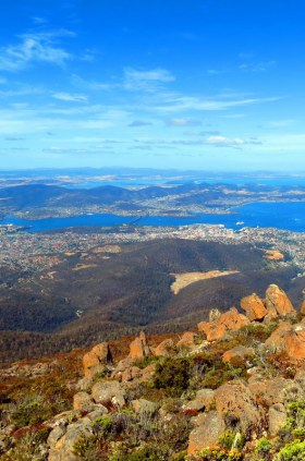 "Only a short drive from Hobart City is Mt Wellington and Wellington Park. Enter ""Pinnacle Road"" into your GPS and drive to the summit for absolutely spectacular views of the city."