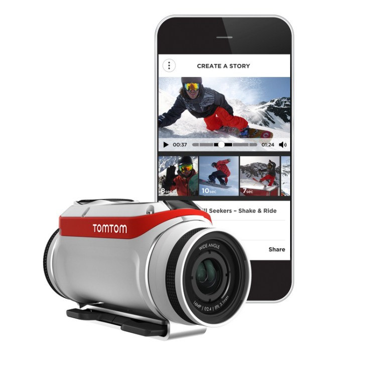 TomTom then goes above and beyond and gives you the option to edit together clips and make a movie while the data is still on the device.