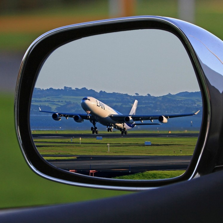 Sometimes your biggest issue may not be getting to the airport on time, but getting to the RIGHT airport on time.